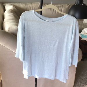 Lou & Grey linen top